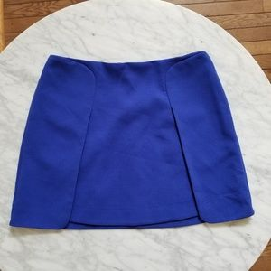 Banana Republic Royal Blue Flap Mini Skirt